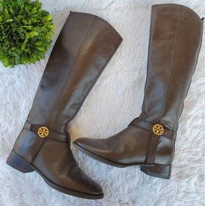 Tory Burch Bristol leather riding boot